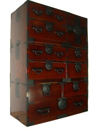 Le vrai meuble japonais ya ta 0852 ve bf for Meuble rangement japonais