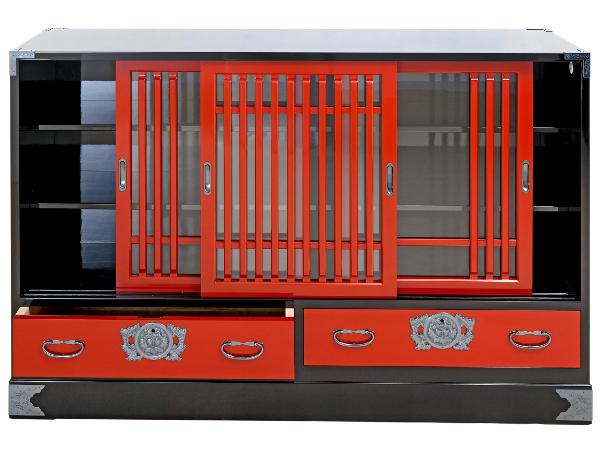 Le vrai meuble japonais ta ch 0028 ca nr for Meuble buffet japonais