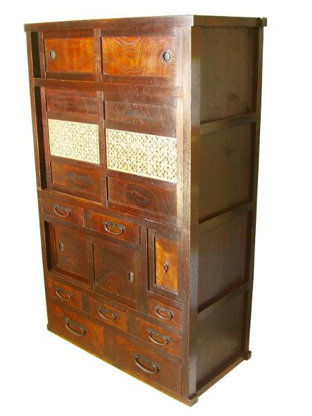 Le vrai meuble japonais ki ch 0825 lb bf for Meuble antique japonais