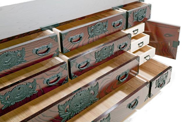 Le vrai meuble japonais ke ta 0012 le bf for Meuble japonais tansu