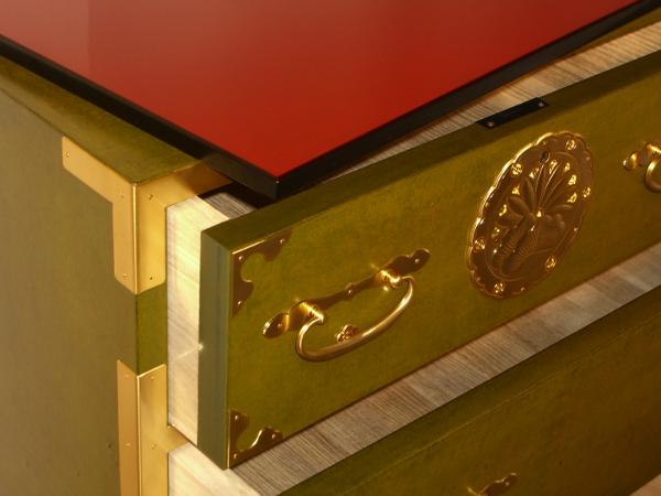 meuble japonais rouge cool lit japonais en rotin brin d ouest for meuble japonais bleu with. Black Bedroom Furniture Sets. Home Design Ideas