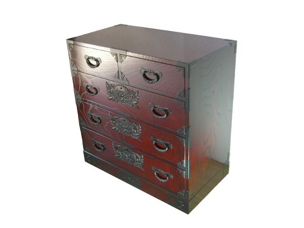 Le vrai meuble japonais ke ta 0107 le bf for Meuble japonais tansu